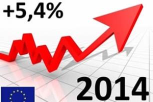 Mercato auto 2014: in europa trend positivo +5,4% dopo 6 anni